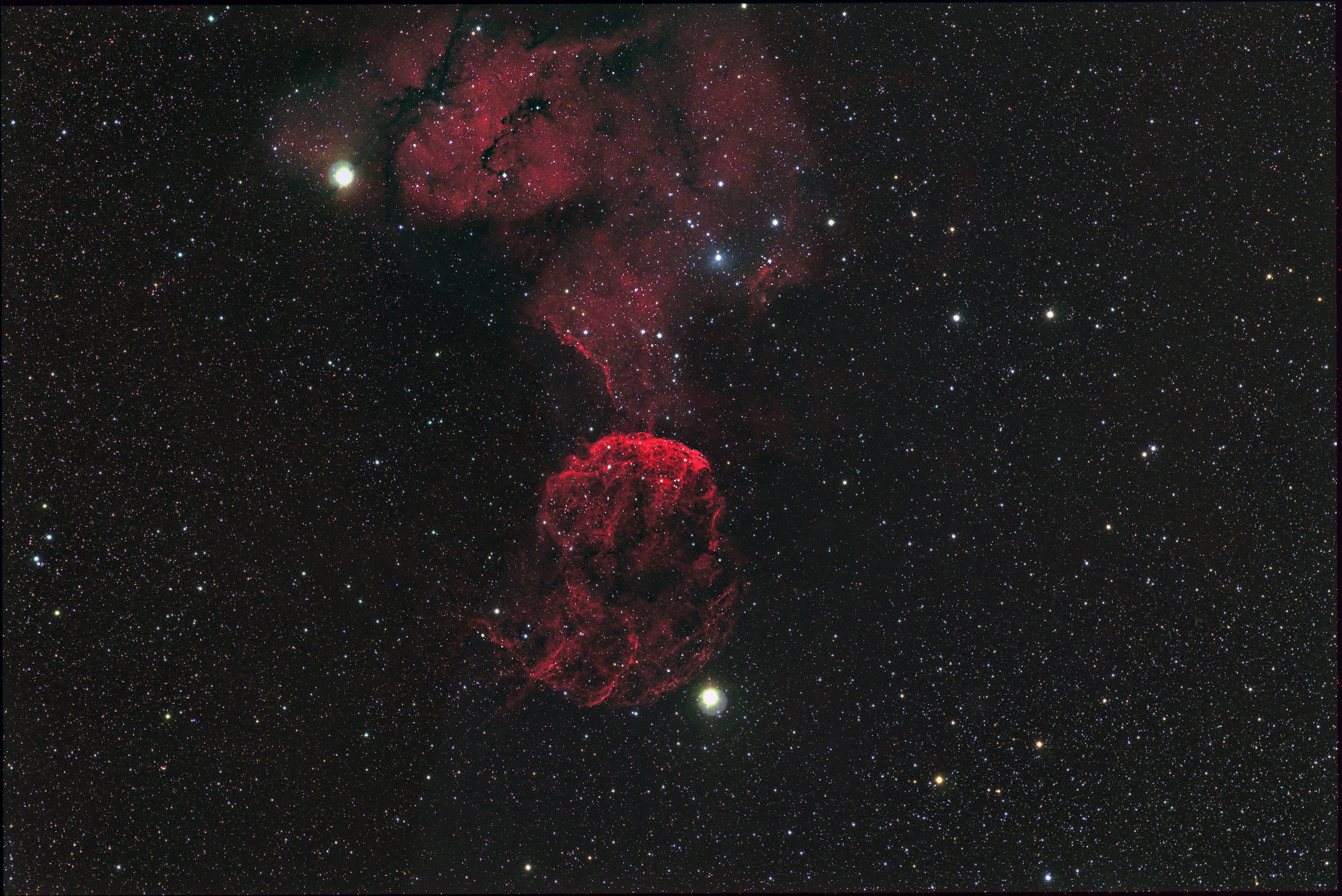 IC443- The Jellyfish Nebula | Images from Deep Space | Mel ...